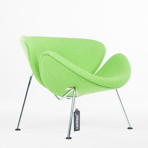 Artifort Orange Slice fauteuil groen
