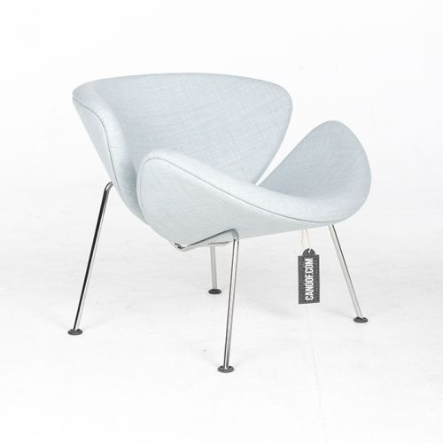 Artifort Orange Slice Fauteuil Lichtblauw