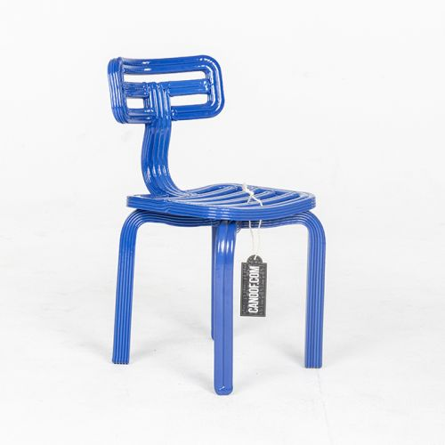 Dirk vander Kooij Chubby Chair blauw