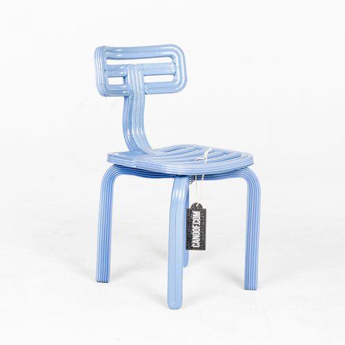 Dirk vander Kooij Chubby Chair lichtblauw