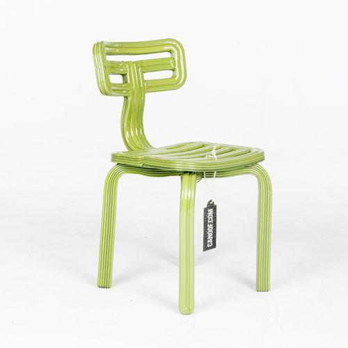 Dirk vander Kooij Chubby Chair mosgroen
