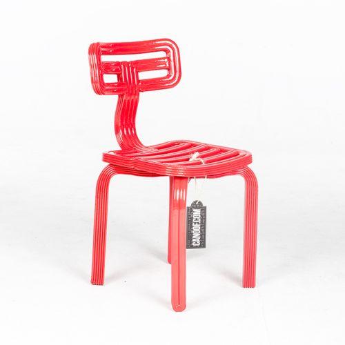 Dirk vander Kooij Chubby Chair rood