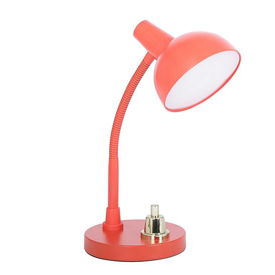 lensvelt studio job lamp rood canoof