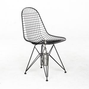 Vitra Wire Chair DKR zwart