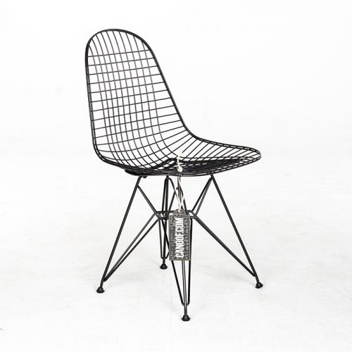 Vitra Wire Chair DKR zwart