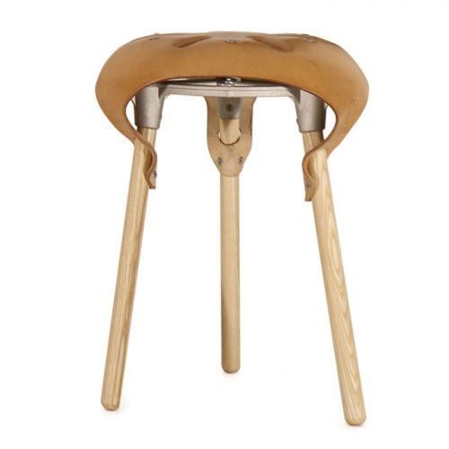 Vroonland saddle stool nude 53cm