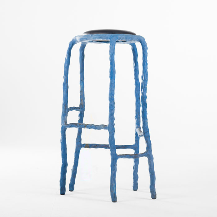 Maarten Baas Plain Clay Bar Stool