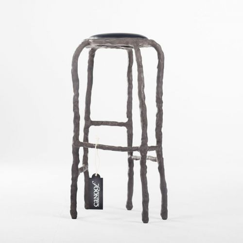 Maarten Baas Plain Clay Bar Stool antraciet