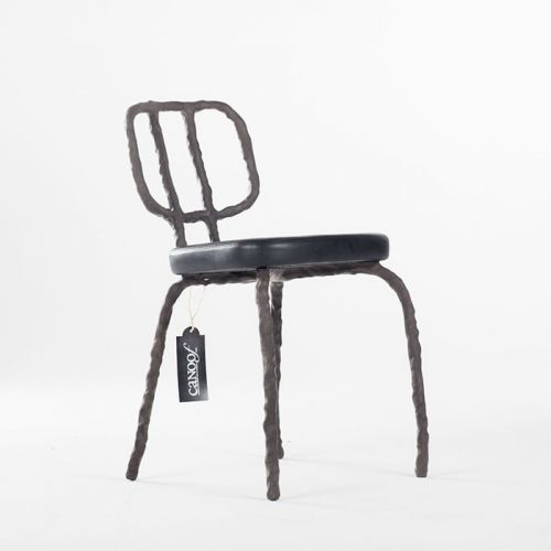 Maarten Baas Plain Clay Dining Chair antraciet