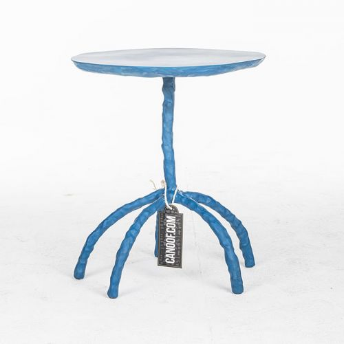 Maarten Baas Plain Clay Side Table blauw