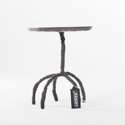 Maarten Baas Plain Clay Side Table antraciet