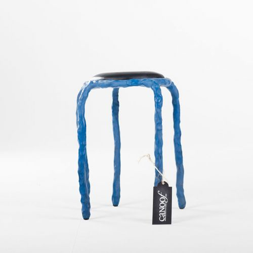 Maarten Baas Plain Clay Stool blauw
