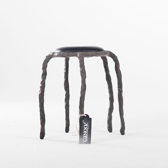 Maarten Baas Plain Clay Stool antraciet