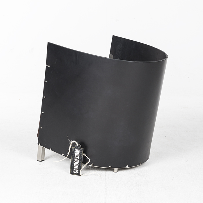 Lensvelt MVS S88 zwart leder