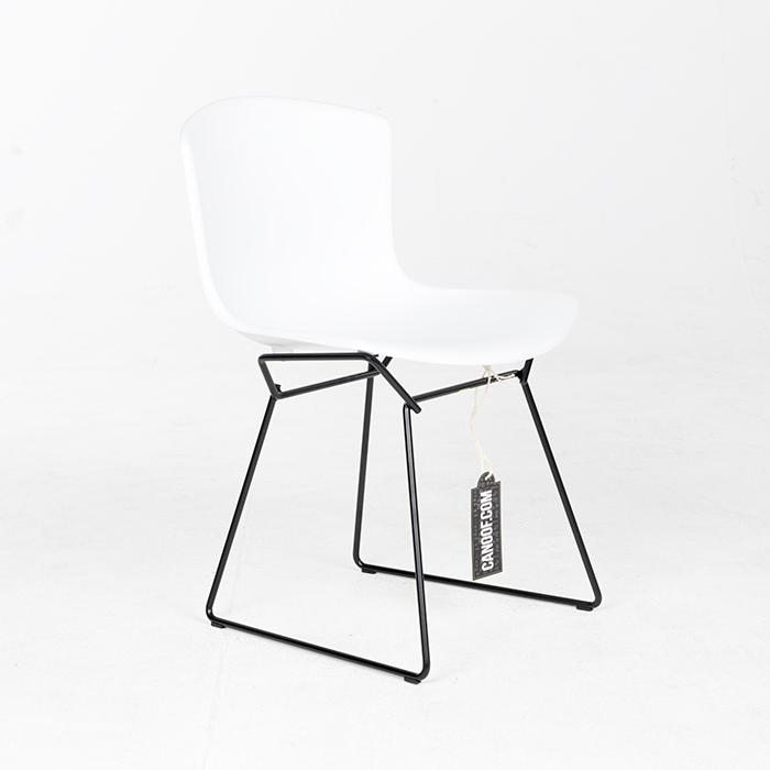 Knoll Bertoia Plastic Chair wit