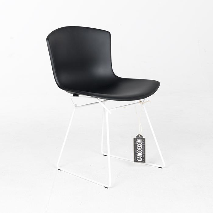 Knoll Bertoia Plastic Chair zwart