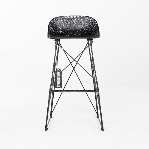 moooi carbon bar stool laag