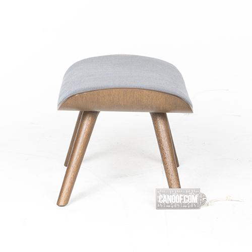 moooi nut footstool grezzo blauw