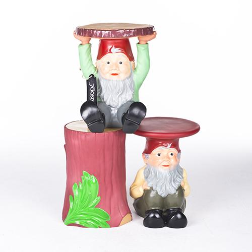Kartell gnomes attila gekleurd