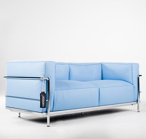 Cassina LC3 2-zits bank