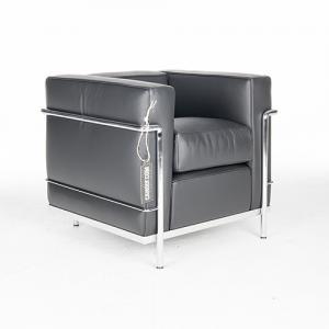 Cassina LC2 fauteuil zwart