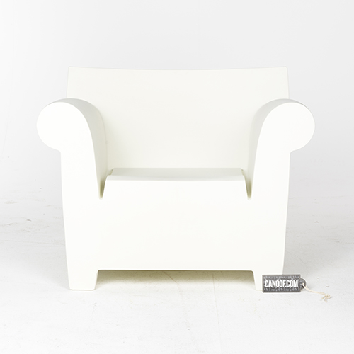 Kartell Bubble Club Fauteuil.Kartell Bubble Club Fauteuil Wit