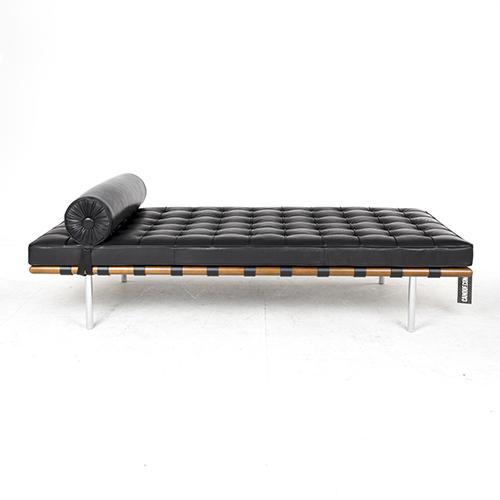 Knoll barcelona day bed zwart