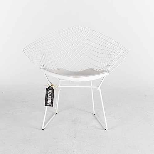 Knoll Diamond Armchair wit