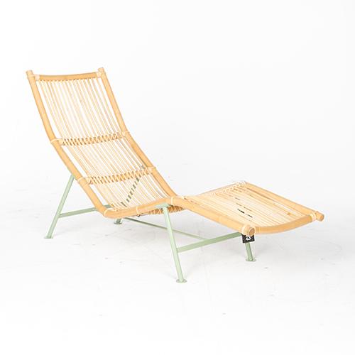 lensvelt cane divan groen