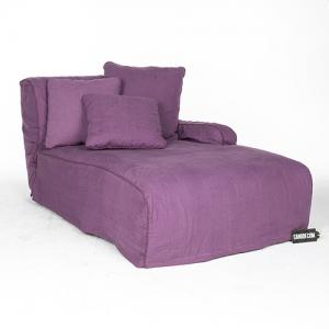 Linteloo Paola Chaise Lounge paars