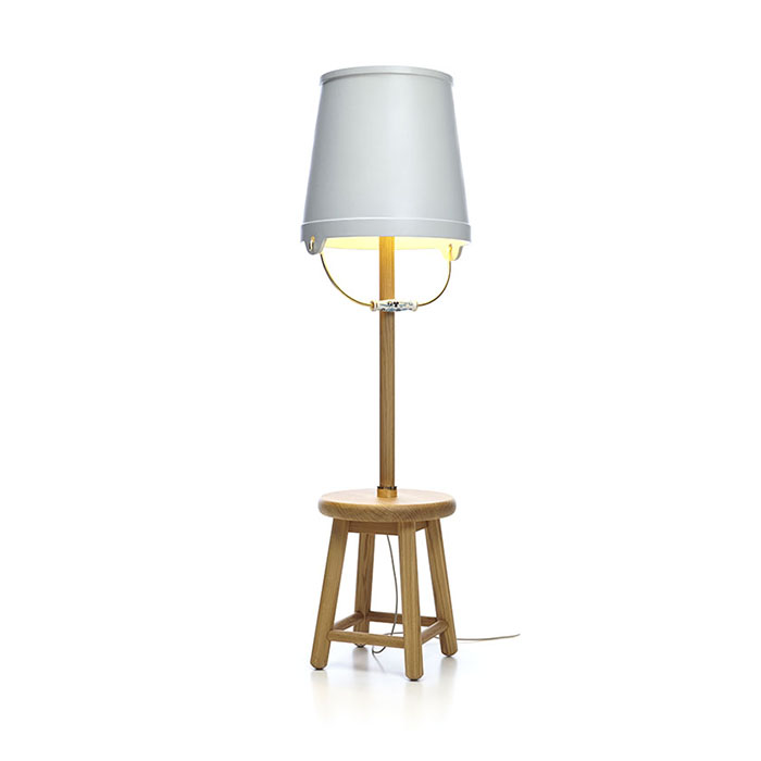moooi bucket floor lamp
