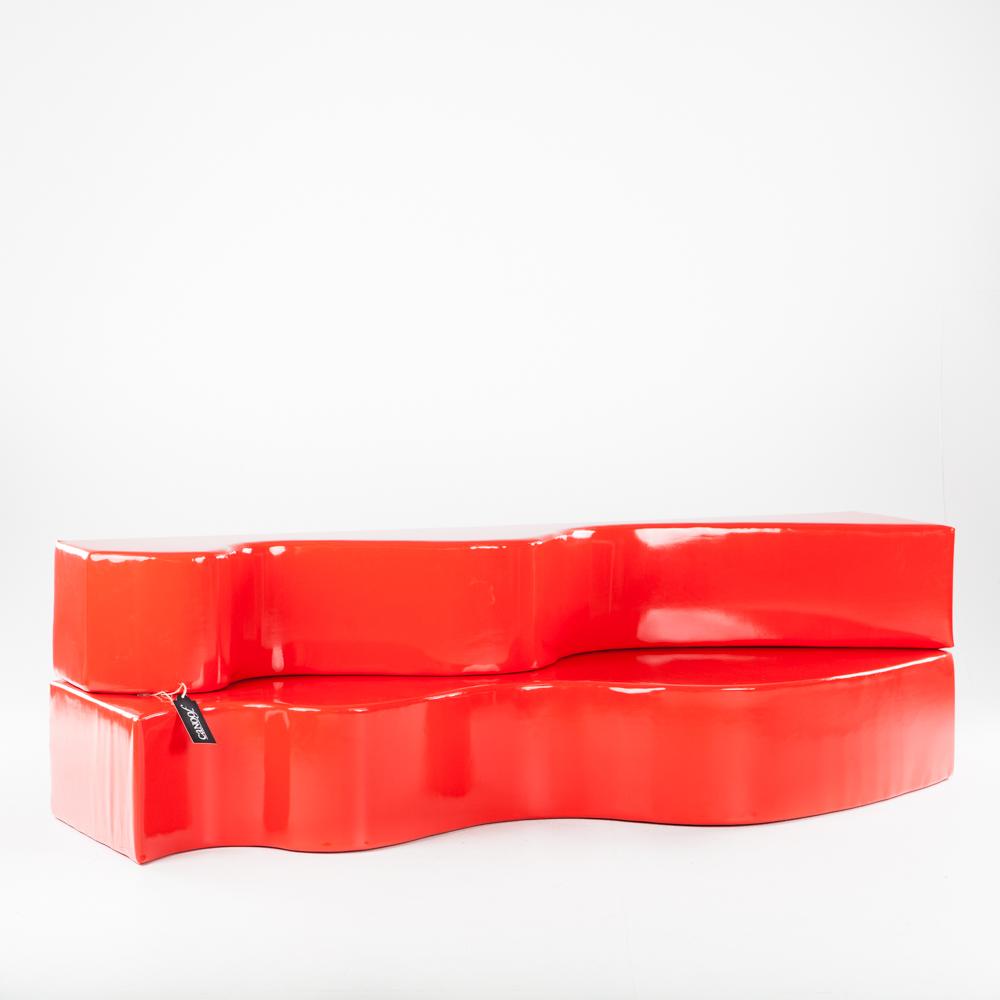 Poltronova Superonda rood