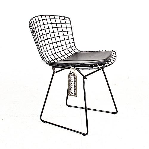 knoll bertoia stoel zwart