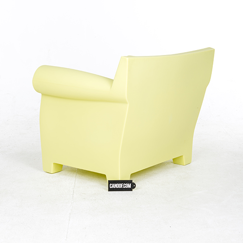 Kartell Bubble Club Fauteuil.Kartell Bubble Club Fauteuil Geel