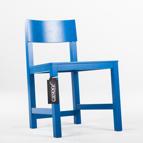 Lensvelt AVL Shaker Chair blauw