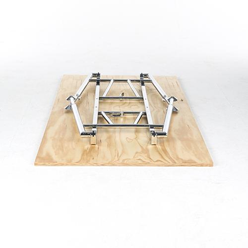 Lensvelt Foldable Desk blank gelakt