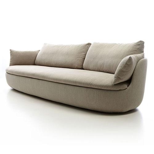 Moooi Bart XL Sofa machedil licht bruin beige