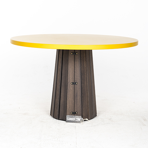 Moooi Container Table wood geel Bodhi cover