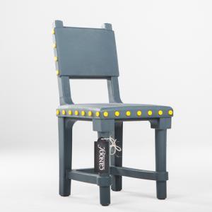 Moooi Gothic Chair antraciet