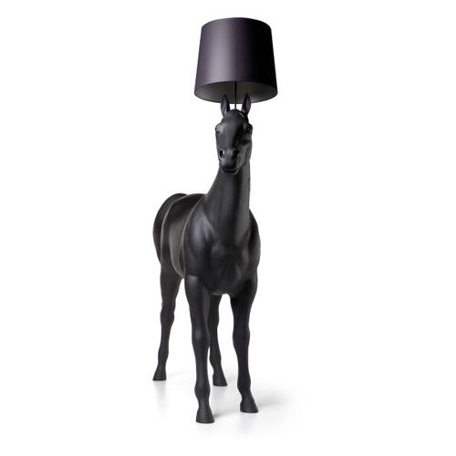 Moooi Horse Lamp zwart