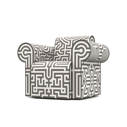 Moooi Labyrinth Chair grijs