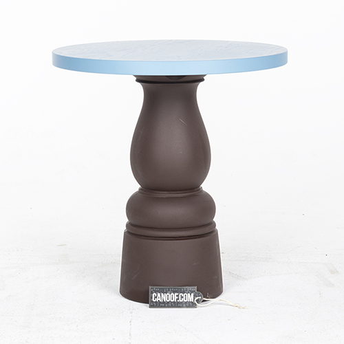 Moooi New Antiques Table wood blauw