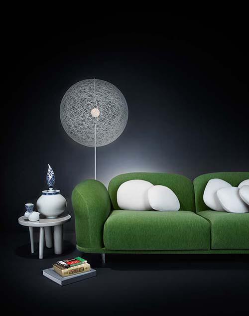 moooi random light m floor lamp kleur wit. Black Bedroom Furniture Sets. Home Design Ideas