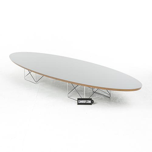Vitra ETR tafel zwart