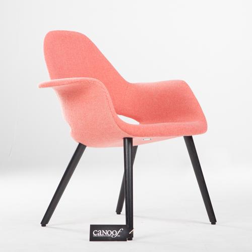 Vitra Organic Chair Hopsak rood roze