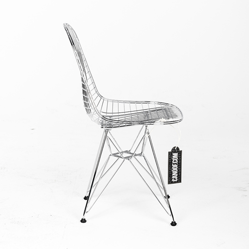 Vitra Wire Chair DKR Chroom