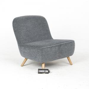 moooi cocktail chair velour grijs