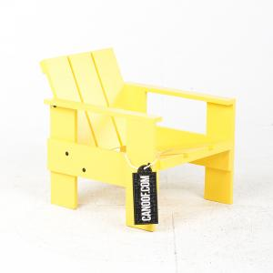 rietveld junior kratstoel geel
