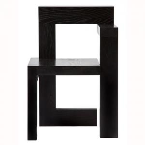 rietveld steltman stoel eikenhout zwart