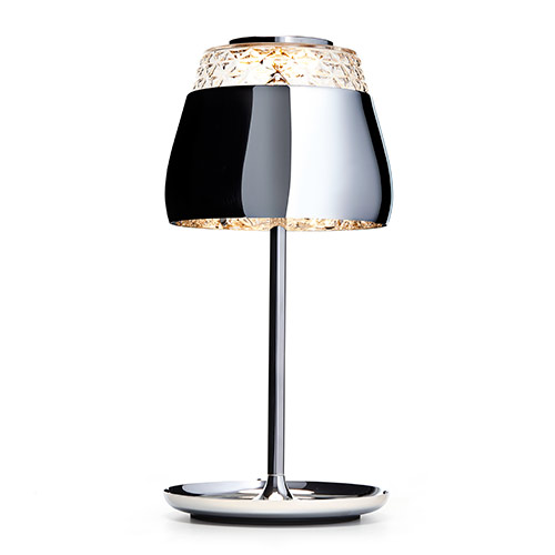 moooi valentine table lamp chrome